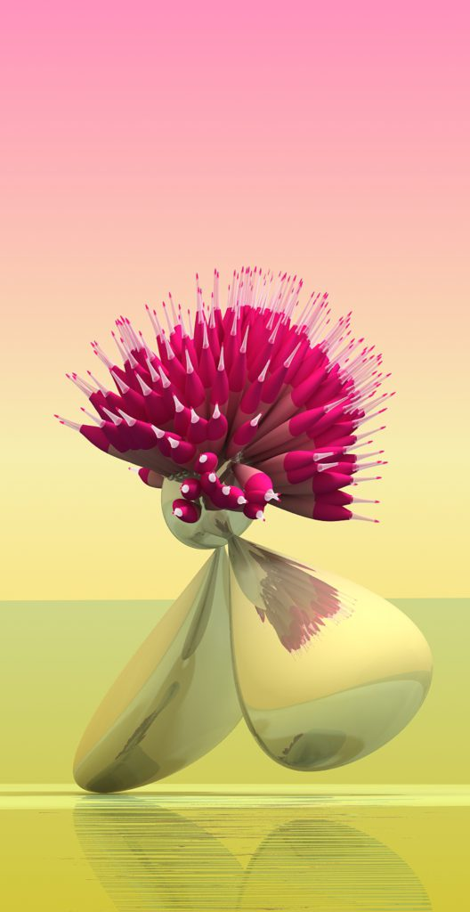 Stepan Ryabchenko Virtual Flowers 1