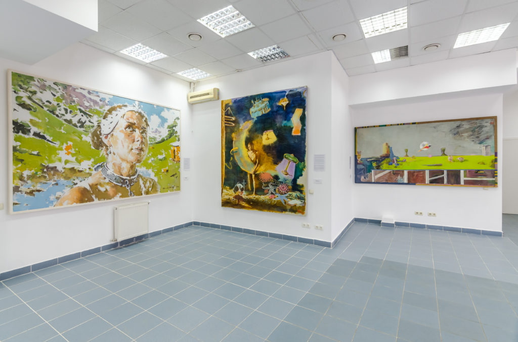 Fragment of the exposition chech gallery Zenko Foundation collection