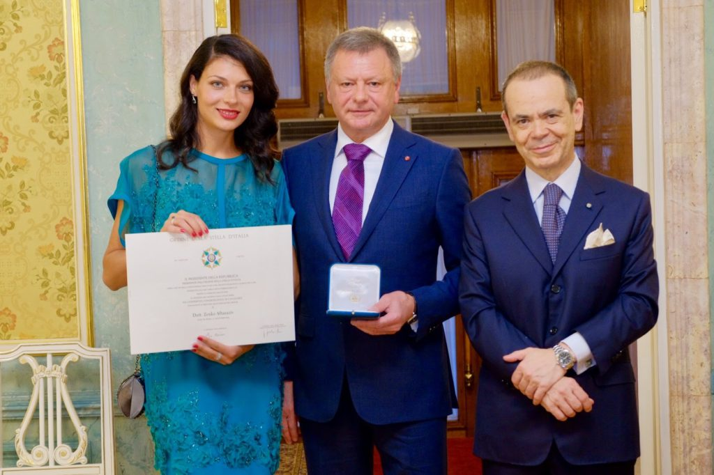 Order of the Star of Italy Zenko Aftanaziv
